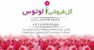 گل فروشی لوتوس در شیراز