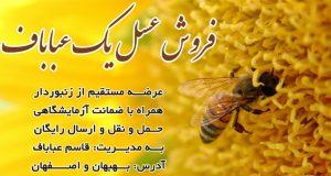 فروش عسل یک عباباف در بهبهان