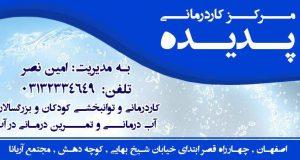 مرکز کاردرمانی پدیده در اصفهان