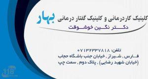 کلینیک کاردرمانی و کلینیک گفتار درمانی بهار در شیراز