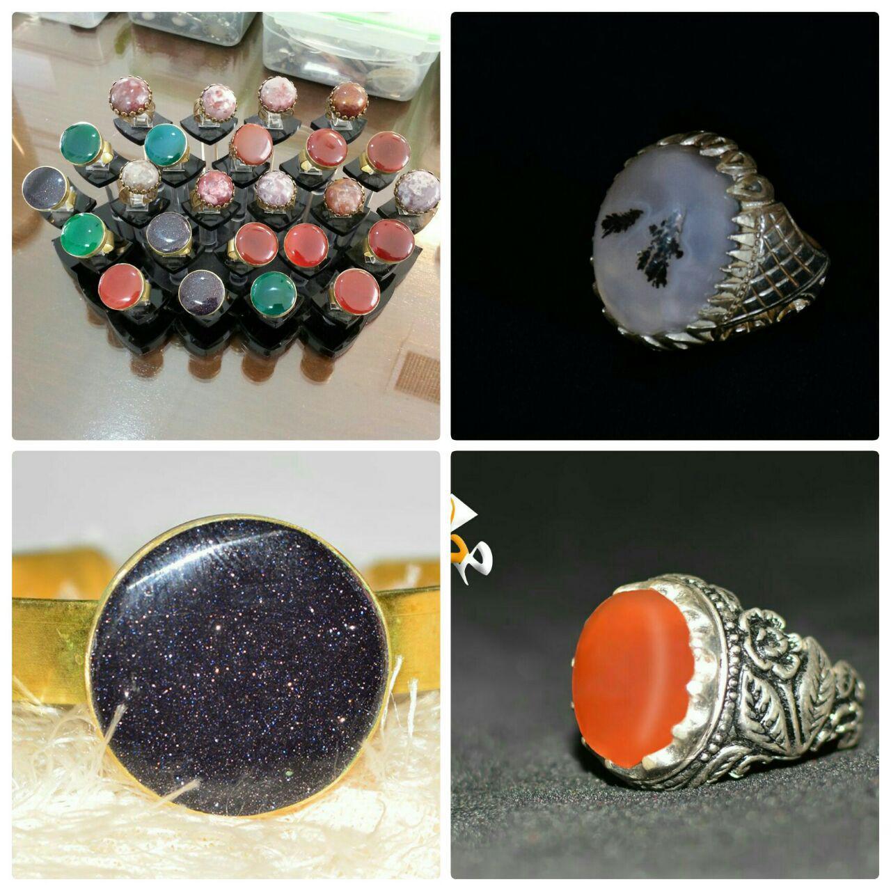 صنایع دستی تراش سنگهای قیمتی