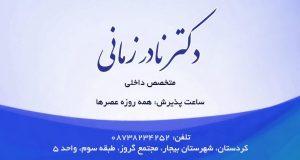 دکتر نادر زمانی در کردستان