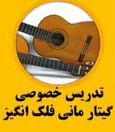 تدریس خصوصی گیتار مانی فلک انگیز