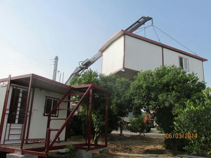 تولید انواع کانکس ساندویج پانل ویلا های پیش ساخته ورق آلات گالوانیزه در مازندران4