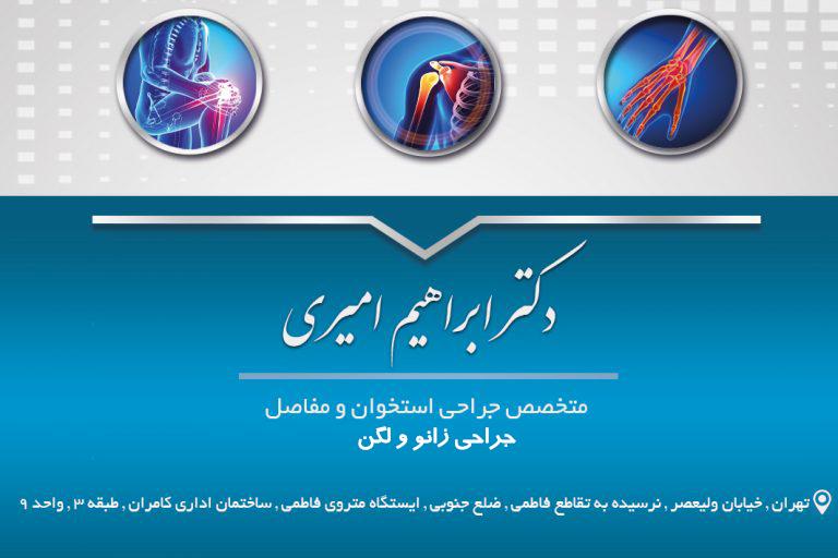 دکتر ابراهیم امیری در تهران