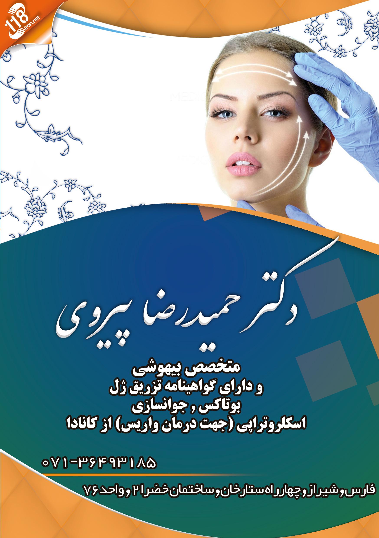 دکتر حمیدرضا پیروی در شیراز