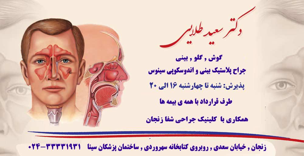 دکتر سعید طلایی در زنجان