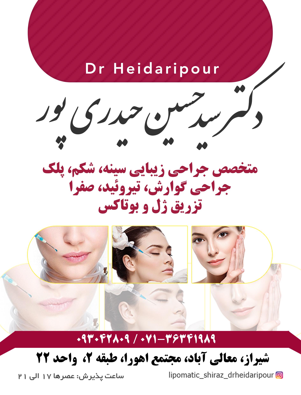 دکتر سید حسین حیدری پور در شیراز