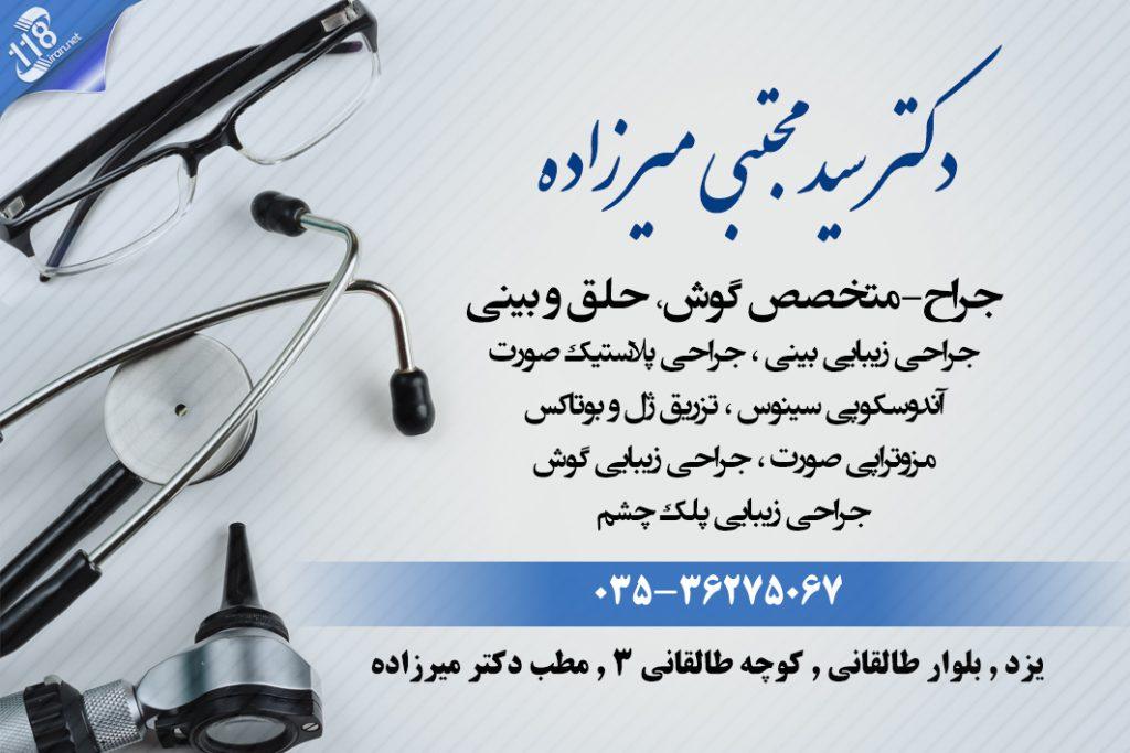 دکتر سید مجتبی میرزاده در یزد
