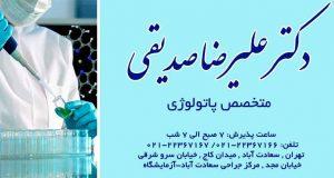 دکتر علیرضا صدیقی در تهران