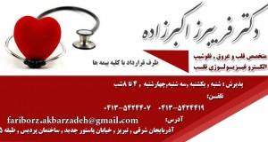 دکتر فریبرز اکبرزاده در تبریز