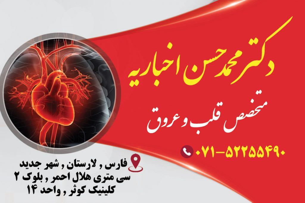 دکتر محمدحسن اخباریه در لارستان