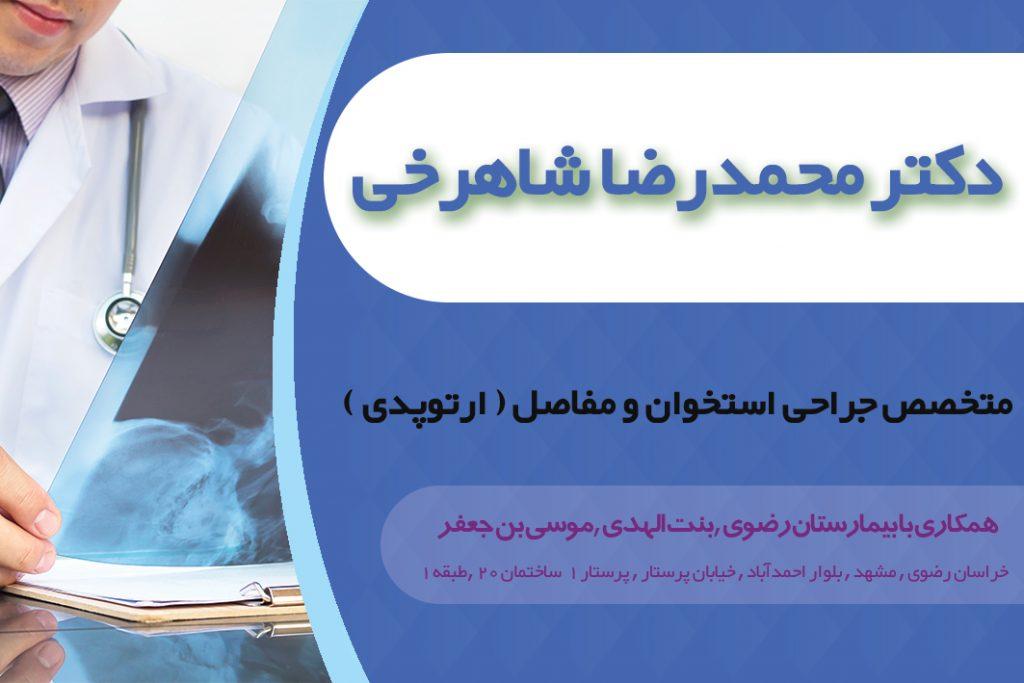 دکتر محمدرضا شاهرخی در مشهد