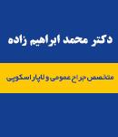 دکتر محمد ابراهیم زاده در مشهد