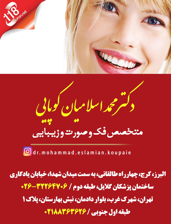 دکتر محمد اسلامیان کوپایی در تهران