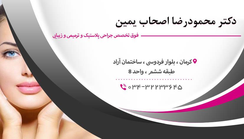 دکتر محمودرضا اصحاب یمین در کرمان