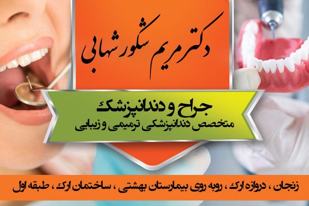دکتر مریم شکور شهابی در زنجان