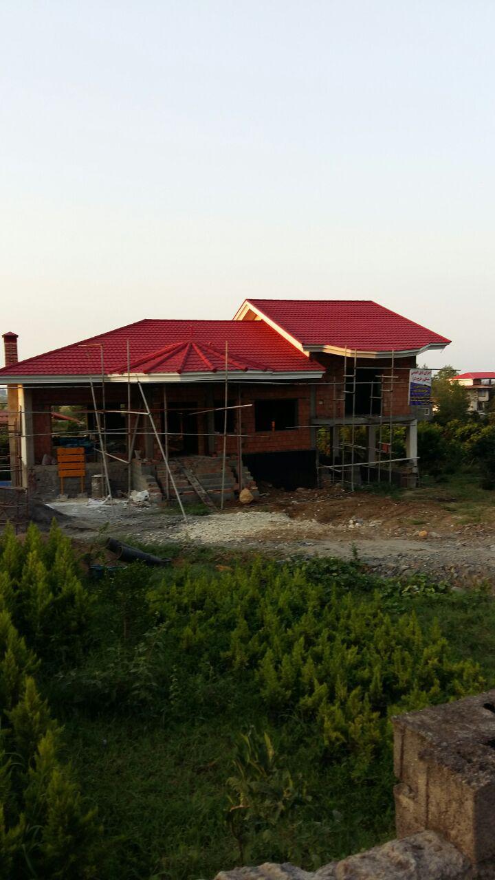 پوشش سقف طبرستان در چالوس5