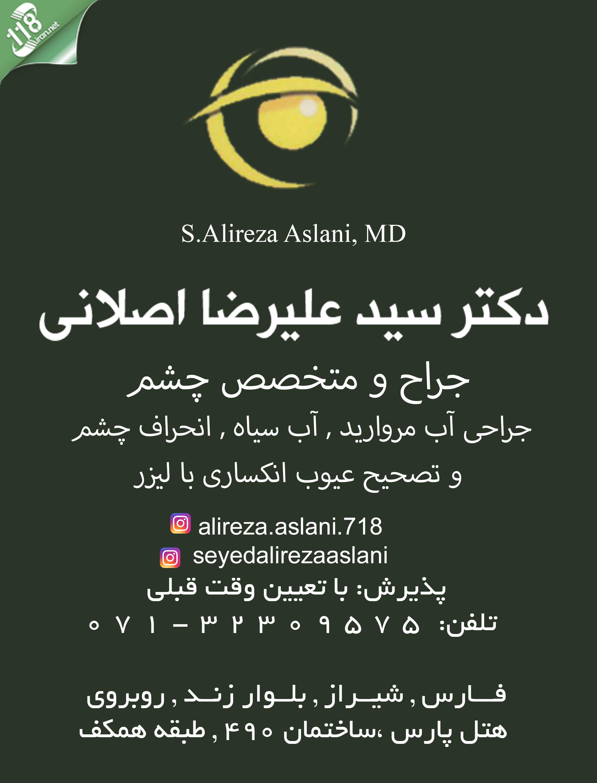 سید علیرضا اصلانی