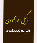 وکیل احمد محمودی در شهر لردگان