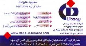 شرکت خدمات بیمه ای سهام عدالت ایمن بیمه دانا