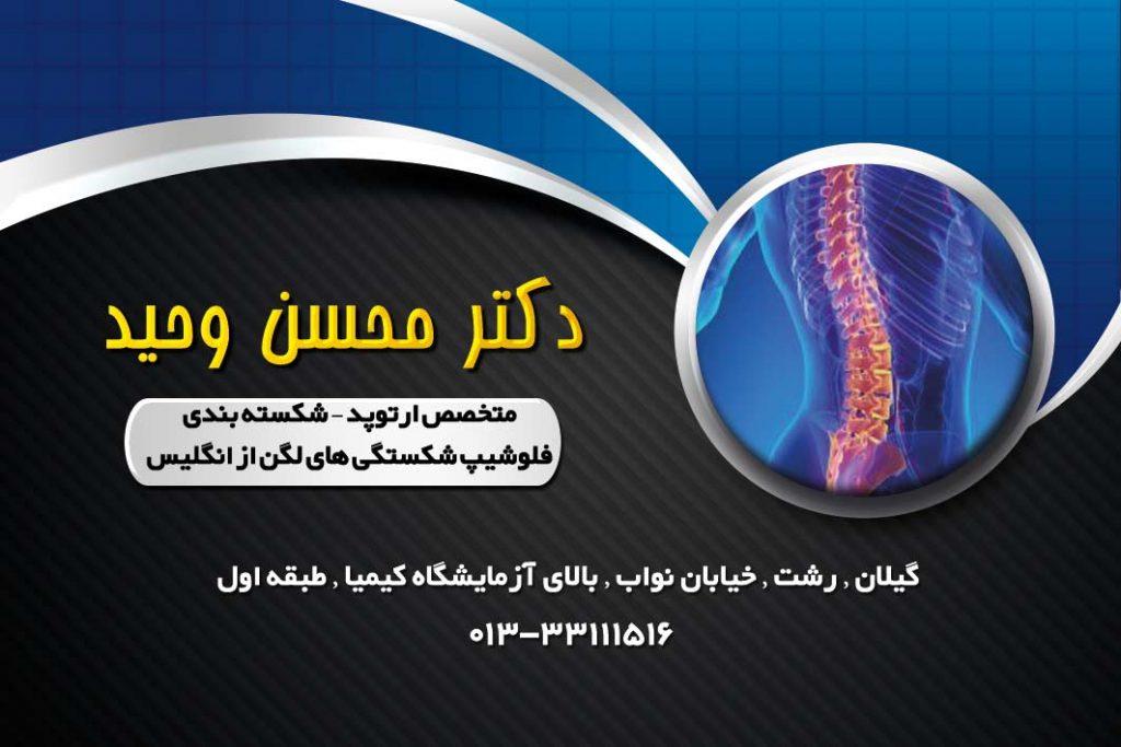 دکتر محسن وحید در رشت