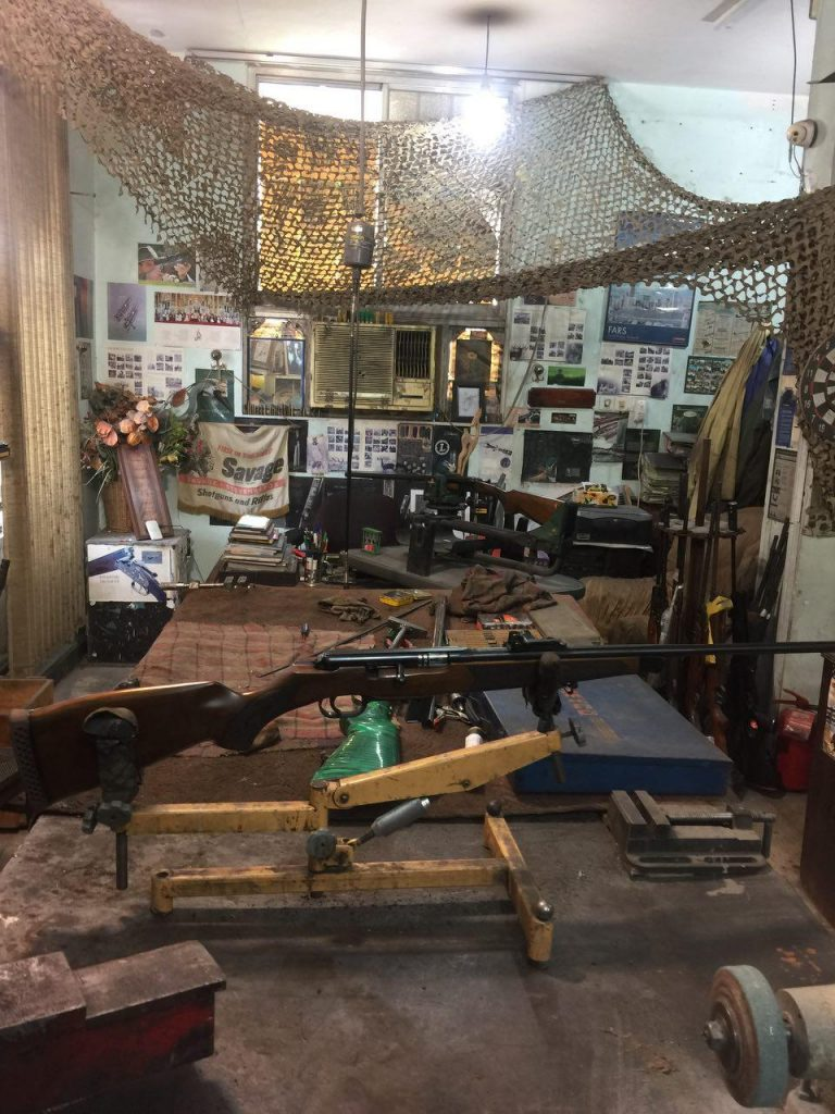 تعمیرگاه مجاز اسلحه شکاری